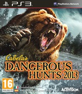 Cabela's Dangerous Hunts 2013 PS3 cover (BLES01736)