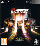 Midway Arcade Origins PS3 cover (BLES01768)