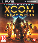 XCOM: Enemy Within - Commander Edition PS3 cover (BLES01851)