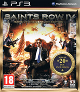 Saints Row IV - Game of the Century Edition PS3 cover (BLES02019)