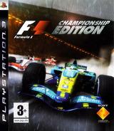 Formula One: Championship Edition pochette PS3 (BCES00005)