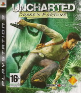 Uncharted: Drake's Fortune pochette PS3 (BCES00065)