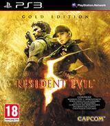 Resident Evil 5: Gold Edition pochette PS3 (BCES00816)