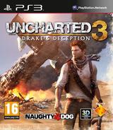 Uncharted 3:L'Illusion de Drake pochette PS3 (BCES01175)