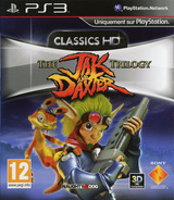 Jak & Daxter The Trilogy pochette PS3 (BCES01325)