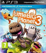 LittleBigPlanet 3 pochette PS3 (BCES02068)