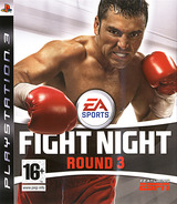 Fight Night: Round 3 pochette PS3 (BLES00026)