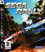 Sega Rally pochette PS3 (BLES00107)