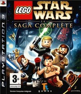 LEGO Star Wars: The Complete Saga pochette PS3 (BLES00121)