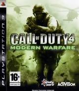 Call of Duty 4: Modern Warfare pochette PS3 (BLES00154)