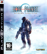 Lost Planet: Extreme Condition pochette PS3 (BLES00198)