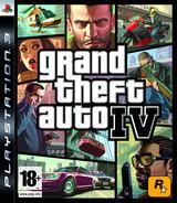 Grand Theft Auto IV pochette PS3 (BLES00258)
