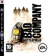 Battlefield: Bad Company pochette PS3 (BLES00259)