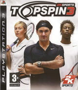 Top Spin 3 pochette PS3 (BLES00276)
