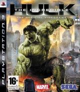 The Incredible Hulk pochette PS3 (BLES00289)