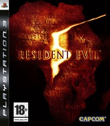 Resident Evil 5 pochette PS3 (BLES00485)