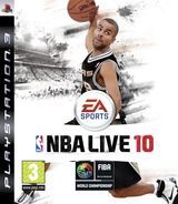 NBA Live 10 pochette PS3 (BLES00637)