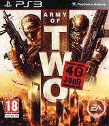 Army of Two:Le 40ème Jour pochette PS3 (BLES00659)