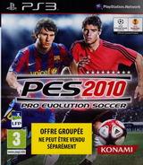 Pro Evolution Soccer 2010 pochette PS3 (BLES00689)