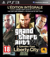 Grand Theft Auto: Episodes from Liberty City pochette PS3 (BLES00887)