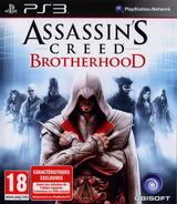 Assassin's Creed: Brotherhood pochette PS3 (BLES00910)