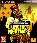 Red Dead Redemption: Undead Nightmare pochette PS3 (BLES01179)