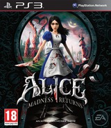 Alice: Madness Returns pochette PS3 (BLES01265)