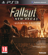 Fallout New Vegas:Ultimate Edition pochette PS3 (BLES01475)