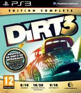 DiRT 3 pochette PS3 (BLES01548)