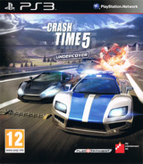 Crash Time 5: Undercover pochette PS3 (BLES01620)