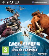 Ice Age 4: Continental Drift - Artic Games pochette PS3 (BLES01686)