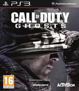 Call of Duty: Ghosts pochette PS3 (BLES01945)
