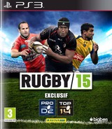 Rugby 15 pochette PS3 (BLES02086)