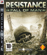 Resistance: Fall of Man PS3 cover (BCES00001)