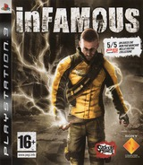 inFamous PS3 cover (BCES00220)