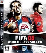 FIFA 08: World Class Soccer PS3 cover (BLJM60046)