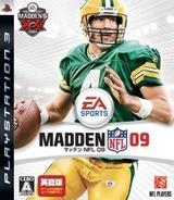 Madden NFL 09 Eigoban PS3 cover (BLJM60088)