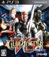 Gladiator VS PS3 cover (BLJM60398)