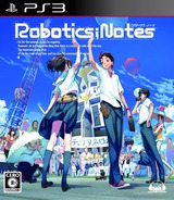Robotics;Notes PS3 cover (BLJM60466)