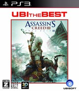Assassin's Creed III (UBI the Best) PS3 cover (BLJM61171)