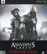 Assassin's Creed: Connor Saga PS3 cover (BLJM61174)