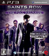 Saints Row: The Third (The Full Package) PS3 cover (BLJS10204)
