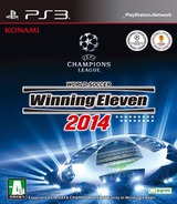 World Soccer Winning Eleven 2014 PS3 cover (BLKS20438)