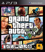 Grand Theft Auto V PS3 cover (BLKS20442)