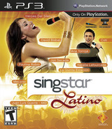 SingStar Latino PS3 cover (BCUS94344)