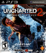 Uncharted 2: Among Thieves PS3 cover (BCUS98123)