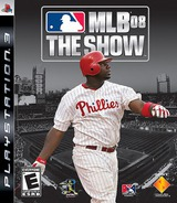 MLB '08: The Show PS3 cover (BCUS98141)