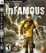 inFamous PS3 cover (BCUS98154)