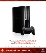 Welcome to PlayStation Network and PlayStation 3 160GB PS3 cover (BCUS98195)