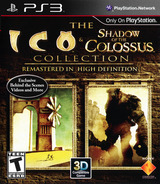 The ICO & Shadow of the Colossus Collection PS3 cover (BCUS98259)